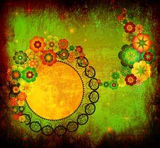 Free Art Grunge Floral Background Stock Photos - 20197123