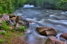Free Beautiful River Rapids In HDR Royalty Free Stock Photos - 20199518