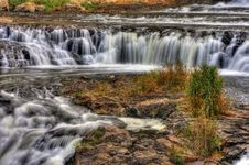 Free Colorful Scenic Waterfall In HDR Stock Photography - 20199522