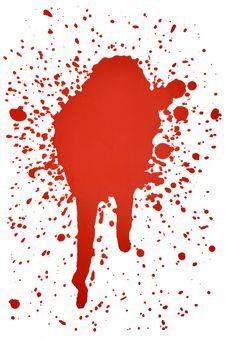 Blood Splatters Stock Image