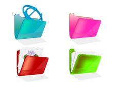 Free Folder Icons Royalty Free Stock Photo - 20199775