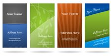 Free Business Cards Royalty Free Stock Images - 20199919