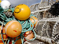 Free Lobster Pots And Buoys Stock Image - 2029461