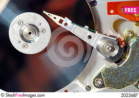 Free Hard Drive Royalty Free Stock Photography - 2025687