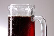 Free Glass Of Dark Beer Stock Image - 2021211