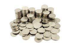 Free Money - 10 Pence Pieces 2 Stock Images - 2021474