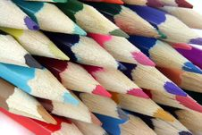 Free Colored Pencils 2 Royalty Free Stock Photography - 2021797