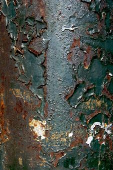 Free Close Up Detail Of Aged Utility Pole Stock Photography - 2022972