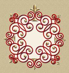 Free Elegant Vintage Swirl Frame • SEE MY PORTFOLIO! Stock Image - 2024471