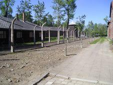 Auschwitz Camp Stock Images