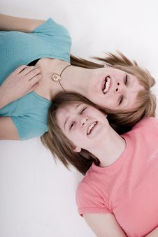 Free Happy Teen Girls Royalty Free Stock Photography - 2024867