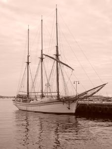 Sailship Stock Images