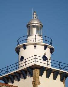 Free Arriluce Lighthouse In Getxo Royalty Free Stock Image - 2025756