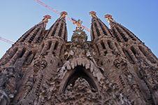 Free La Sagrada Familia Royalty Free Stock Image - 2025796
