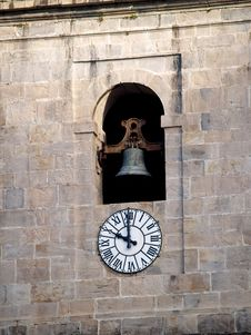 Free Church Bell Tower And Clock Royalty Free Stock Images - 2025799