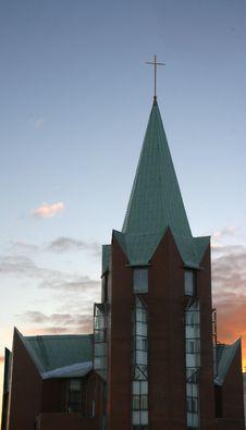 Free Catholic Church. Royalty Free Stock Images - 2026289