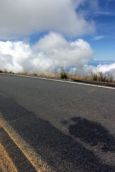Free Road To Haleakala Stock Images - 2026324