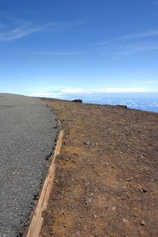 Free Road To Haleakala Stock Images - 2026424