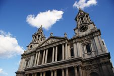 Free St Pauls Cathedral Royalty Free Stock Photos - 2027738