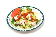 Free Salad Plate Royalty Free Stock Images - 2028399