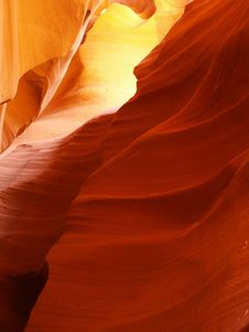 Free The Upper Antelope Slot Canyon Royalty Free Stock Photography - 2028677