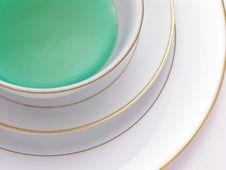 Green Herbal Tea 5 Stock Image