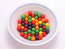 Free Bowl Of Candy Stock Photo - 2028960