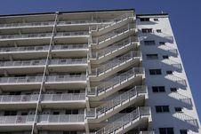 Urban Apartment Building Stock Photos