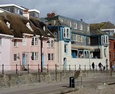 Free English Seaside Houses Stock Photography - 2029412