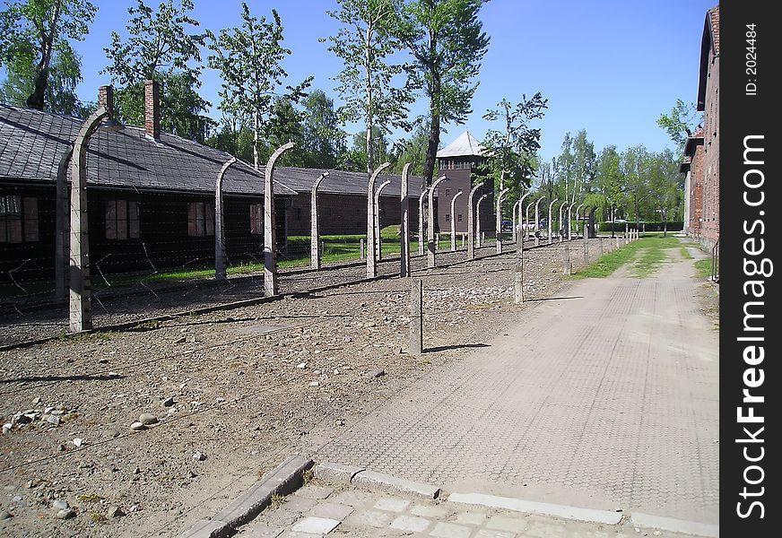 Auschwitz camp