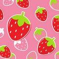 Free Fresh Strawberry Fruit Pattern Or Background Stock Photo - 20206640