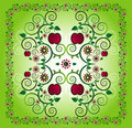 Free Pattern With Apple Stock Image - 20207361