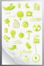 Free Set Of Ecology Icons Stock Photo - 20208110