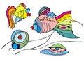 Free Two Fish Royalty Free Stock Photos - 20208228