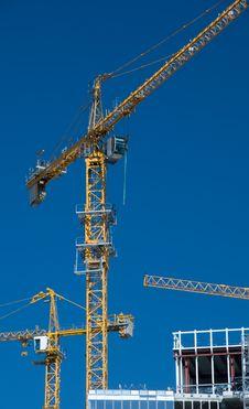Free Hoisting-crane Royalty Free Stock Photo - 20206765