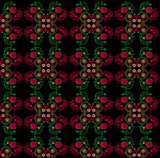Free Pattern With Flower Seamless Texture Royalty Free Stock Photo - 20207435