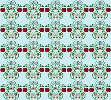 Free Pattern With Apple Seamless Texture Stock Photo - 20207470