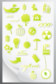 Free Set Of Ecology Icons Stock Photo - 20208110