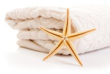 Free Stack Of Towel Royalty Free Stock Photo - 20208455