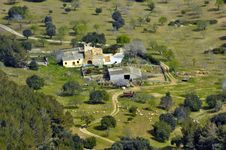 Free Bird S Eye View Of Rural Majorca Royalty Free Stock Image - 20209216