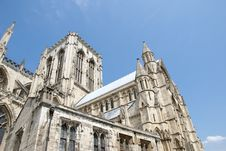 Free Minster South View Royalty Free Stock Image - 20217536