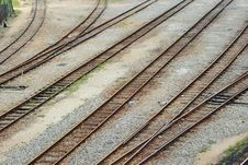 Free Multiple Rail Track Stock Photos - 20217883
