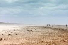 Free Ethereal Landscape Of A Beach During Sand Storm Royalty Free Stock Photo - 20217935