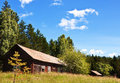 Free Barn In The Forest. Stock Photography - 20220492