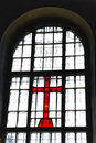 Free Cross At A Window Stock Photo - 20226140