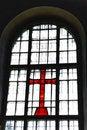 Free Cross At A Window Stock Photo - 20226140