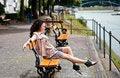 Free Beautiful Latina Having Fun In The Park Royalty Free Stock Photos - 20227938
