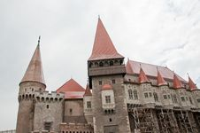 Free Old Stone Castle In Romania - Hunedoara Castle Royalty Free Stock Photography - 20220937