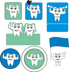 Free Tooth Logo Stock Image - 20222921