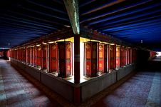 Free Prayer Wheels Tunnels Stock Image - 20224231